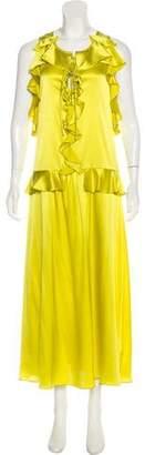 Marissa Webb Silk Maxi Dress