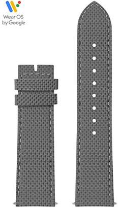 GUESS CS1002S12 22mm Silicone Grey Watch Strap