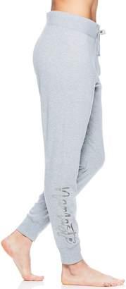 "Gaiam Women's Nirvana ""Namaste"" Graphic Yoga Jogger Sweatpants"