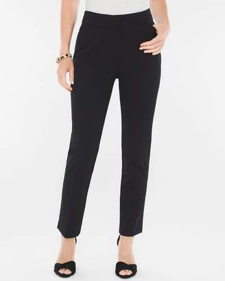 Ponte Tapered Ankle Pants