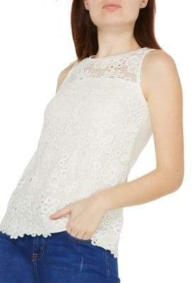 Dorothy Perkins Daisy Lace Top