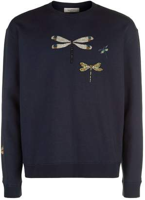 Valentino Dragonfly Detail Sweater