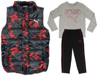 Puma fadgda Boy's Vest, Top and Pants 3-Piece Set - Size Age 7