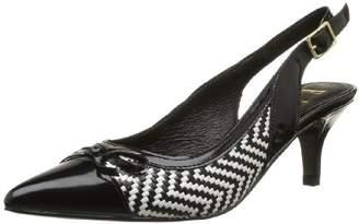 Elle Women Sandals Black Size: 7 UK