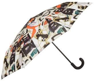 Burberry Medal Print Umbrella
