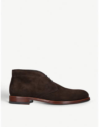 Tod's Tods Polacco suede desert boots