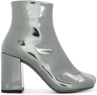MM6 MAISON MARGIELA coated ankle boots