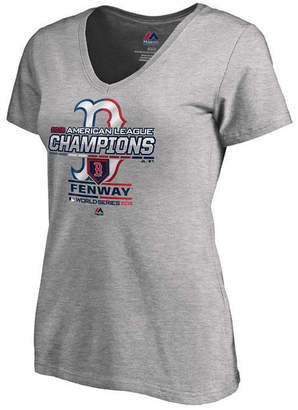 Majestic Women Boston Red Sox Mlb Women League Champ T-Shirt