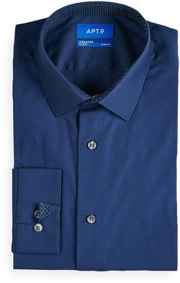 Apt. 9 Men's Slim-Fit Hybrid Stretch Dress Shirt