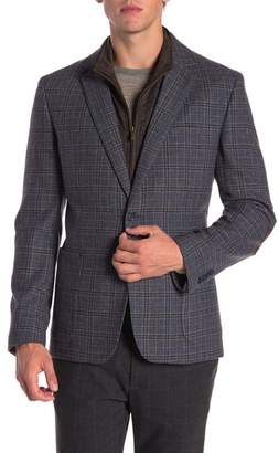 English Laundry Wool Blend Bib Blazer