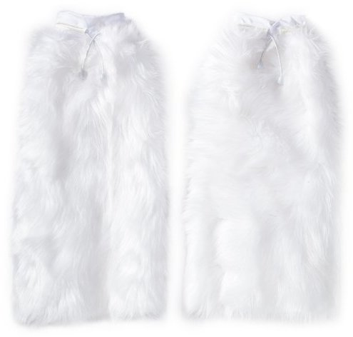 Party King Women's Fuzzy Boot Covers