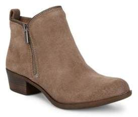 Lucky Brand Bartalino Classic Suede Booties