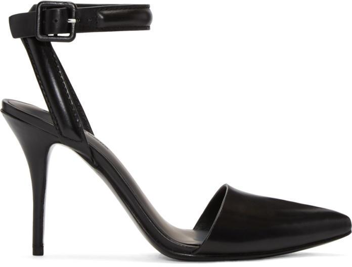 Alexander Wang Black Lovisa Heels