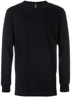 Attachment round neck sweatshirt
