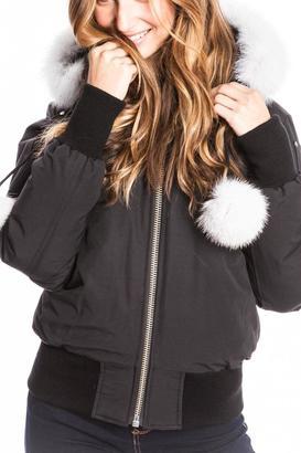 Moose Knuckles Debbie Down Jacket $624 thestylecure.com