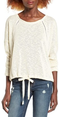 Women's Roxy Loose Ends Knit Pullover $44.50 thestylecure.com