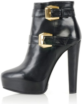 Kim Kwang Calf Leather Ankle Boot