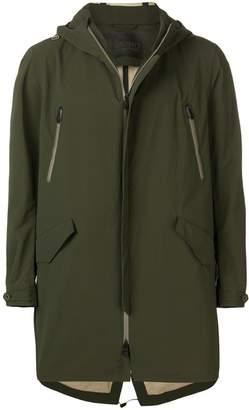 Herno hooded coat