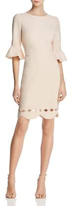 Adelyn Rae Blair Scallop-Hem Dress