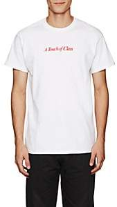 """Blood Brother MEN'S """"TOUCH OF CLASS"""" COTTON T-SHIRT-WHITE SIZE XL"""