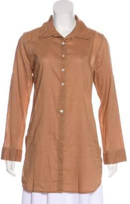 Calypso Button-Up Mini Dress