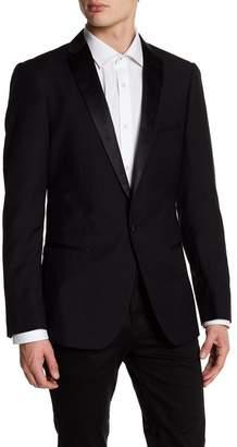 Paisley & Gray Notch Collar Solid Tuxedo Sport Coat