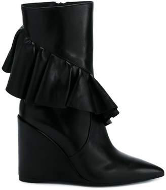 J.W.Anderson frill detail boots