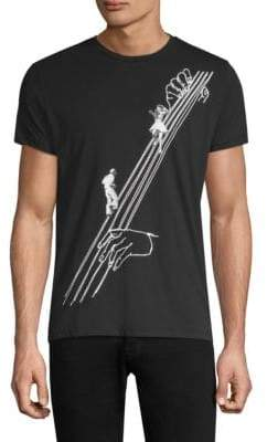 LIBRARY Tee Dancing On Strings Cotton Tee