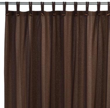 Eco-ordinates® Houston Woodland Recycled Fabric Shower Curtain