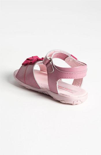 Laura Ashley 'Bow' Sandal (Walker & Toddler)