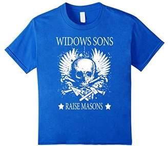 Freemason - WIDOWS SONS - RAISE MASONS T-Shirt Gift