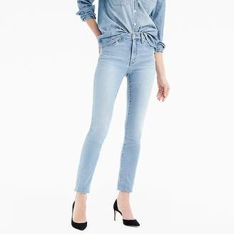 """J.Crew Petite 9"""" high-rise toothpick jean in wilkerson wash"""