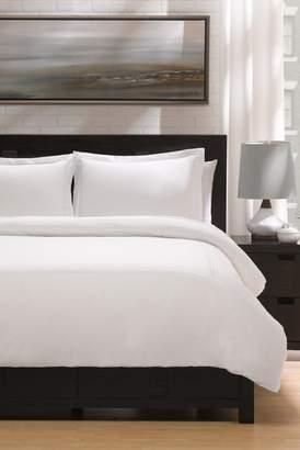 +Hotel by K-bros&Co Ella Jayne Home Hotel Luxury Percale Full\u002FQueen Duvet Set - White