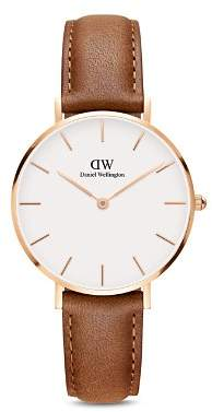 Daniel Wellington Classic Petite Leather Watch, 32mm
