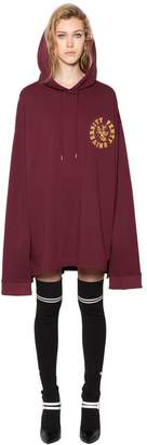 FENTY PUMA by Rihanna Oversized Cotton Sweatshirt Dress