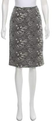 Andrew Gn Floral Lace Skirt