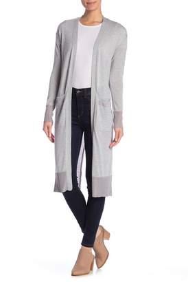 Cotton Emporium Long Sleeve Open Front Cardigan