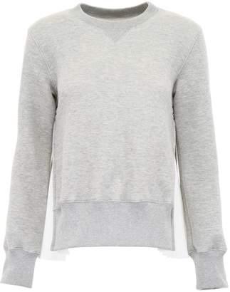 Sacai Sweatshirt With Pleated Sides