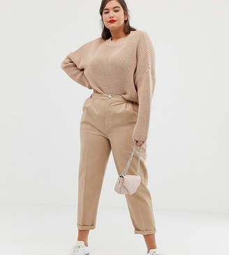 Asos DESIGN Curve chino trousers