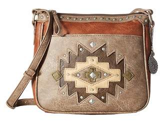 American West Earth Bound Zip Top Crossbody