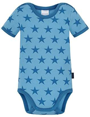 Schiesser Unisex Baby Body 1/2 Base Layer Light Blue 805