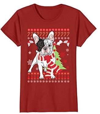 at amazon com a french bulldog christmas t shirt