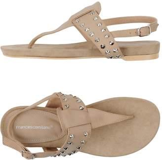 Francesco Milano Toe strap sandals - Item 11340162