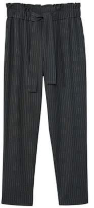 MANGO Chalk-stripe pants