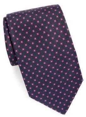 Brioni Printed Silk Tie