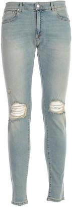 Represent REPRESENT Ripped Knee Skinny Jeans