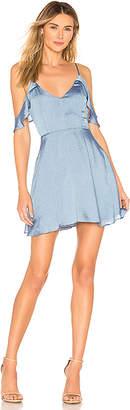 superdown Jeanie Flutter Sleeve Dress
