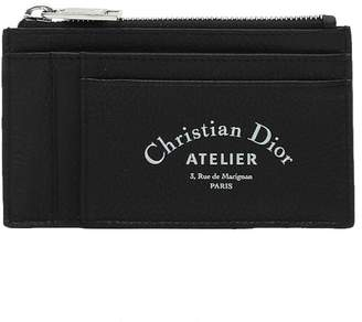 Christian Dior Card Holder With Zipper