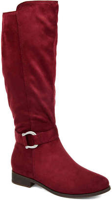 Journee Collection Cate Wide Calf Riding Boot - Women's