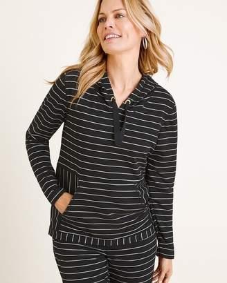 Zenergy Hooded Striped Pullover